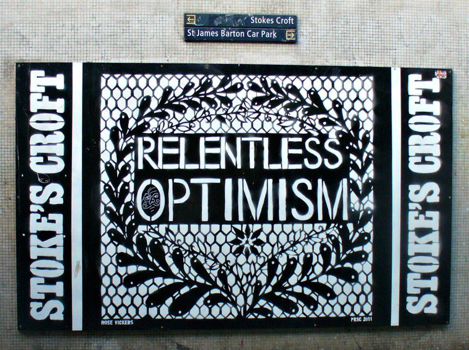 Relentless Optimism - The Mild Mild West - Serena Rossi
