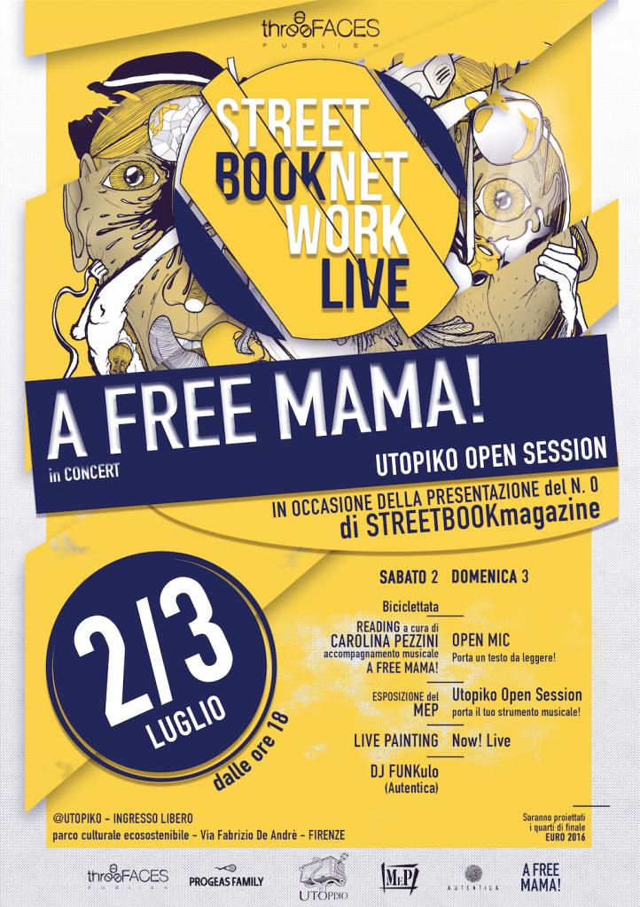 Locandina StreetBook Network Live Utopiko