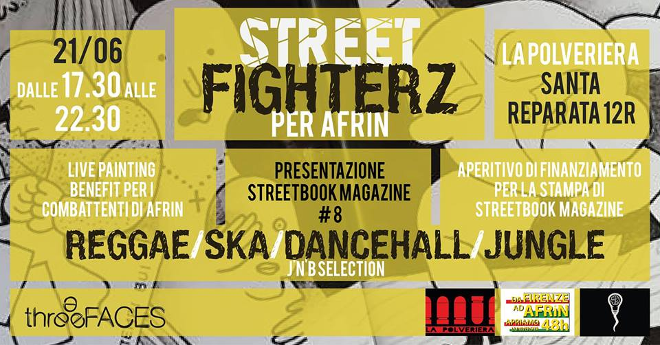 Street Fighterz per Afrin Three Faces La polveriera