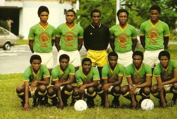 La Nazionale dello Zaire a Germania '74 (fonte Gazzetta Fan News).