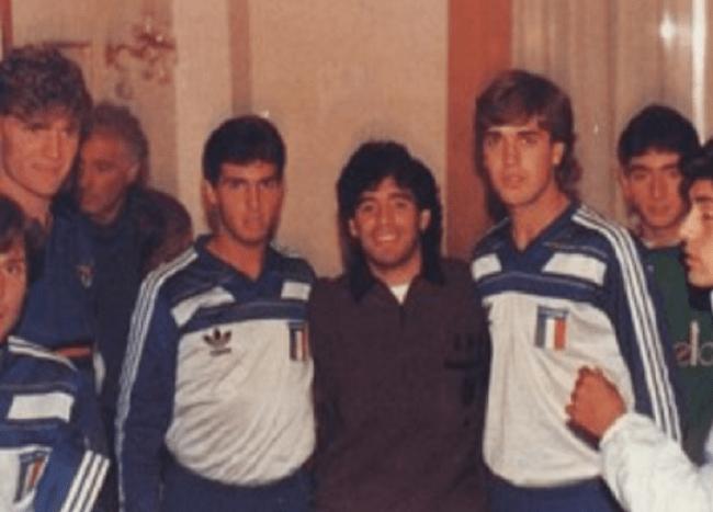 Batigol e Maradona