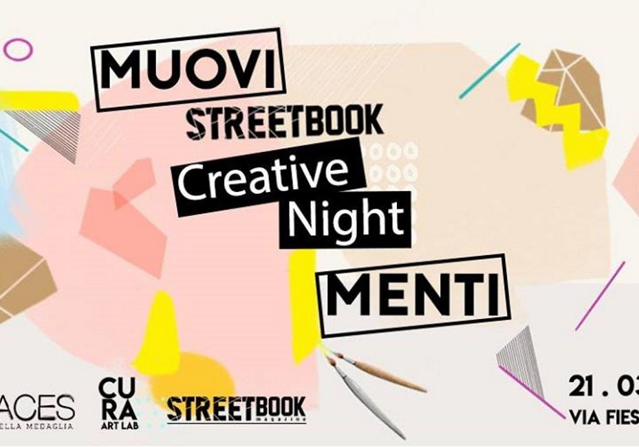 MuoviMenti StreetBook Creative Night || Foto&Video