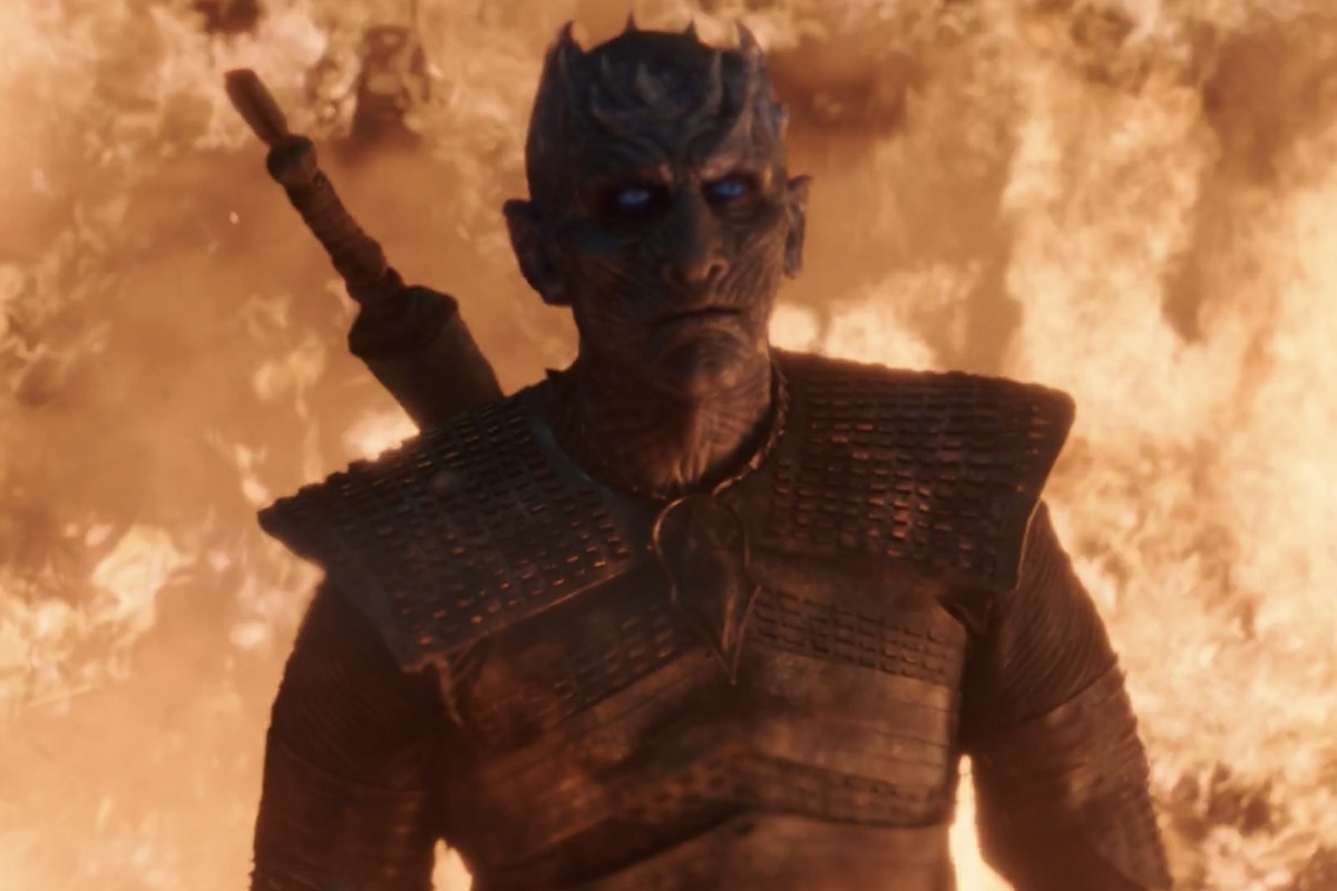 Night King fire