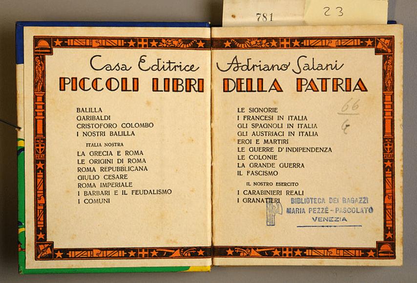 Letture ai tempi del fascismo, un articolo di Tiziana Caudullo Three Faces