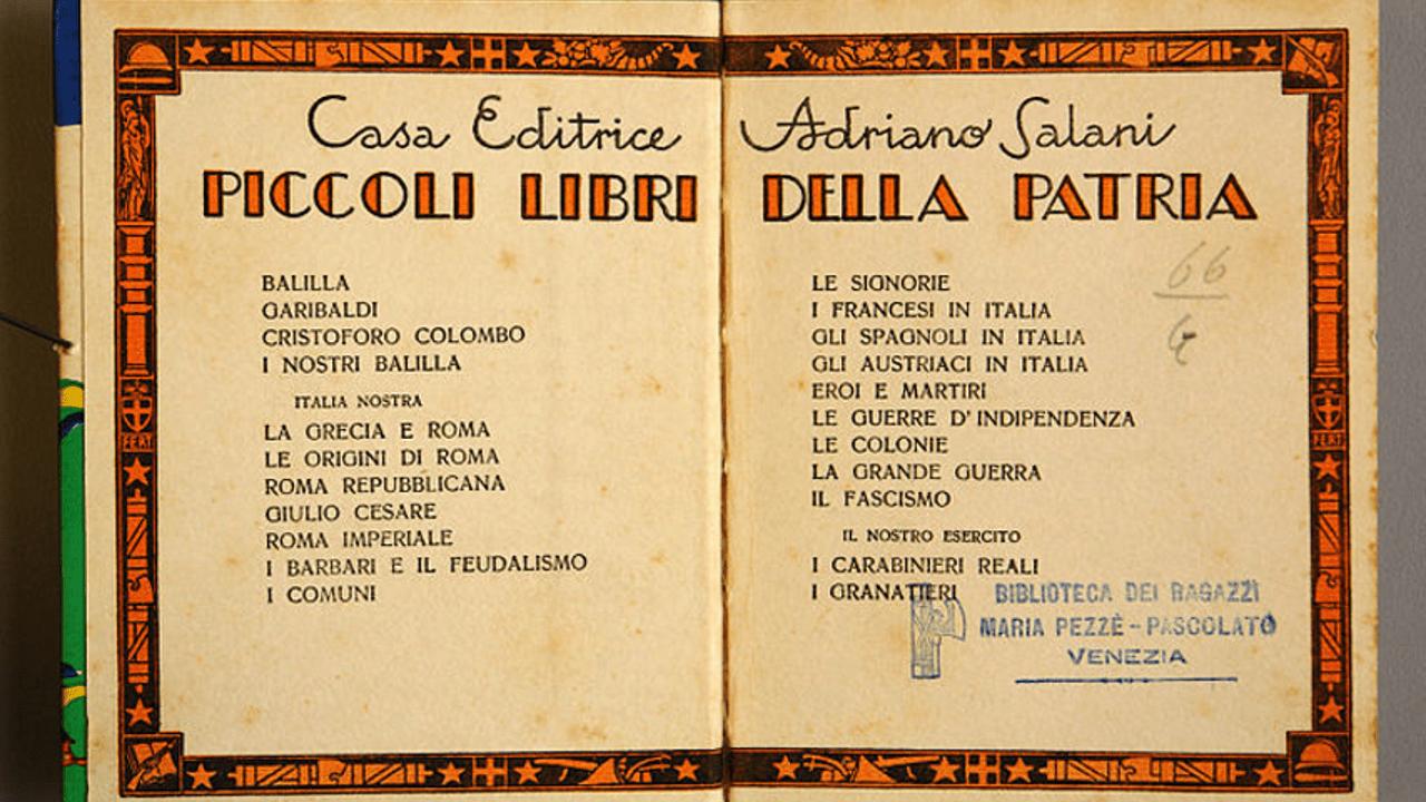 Letture ai tempi del fascismo, un articolo di Tiziana Caudullo Three FacesEV
