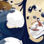 Surf sul diluvio, un racconto di N Casucci || Three Faces