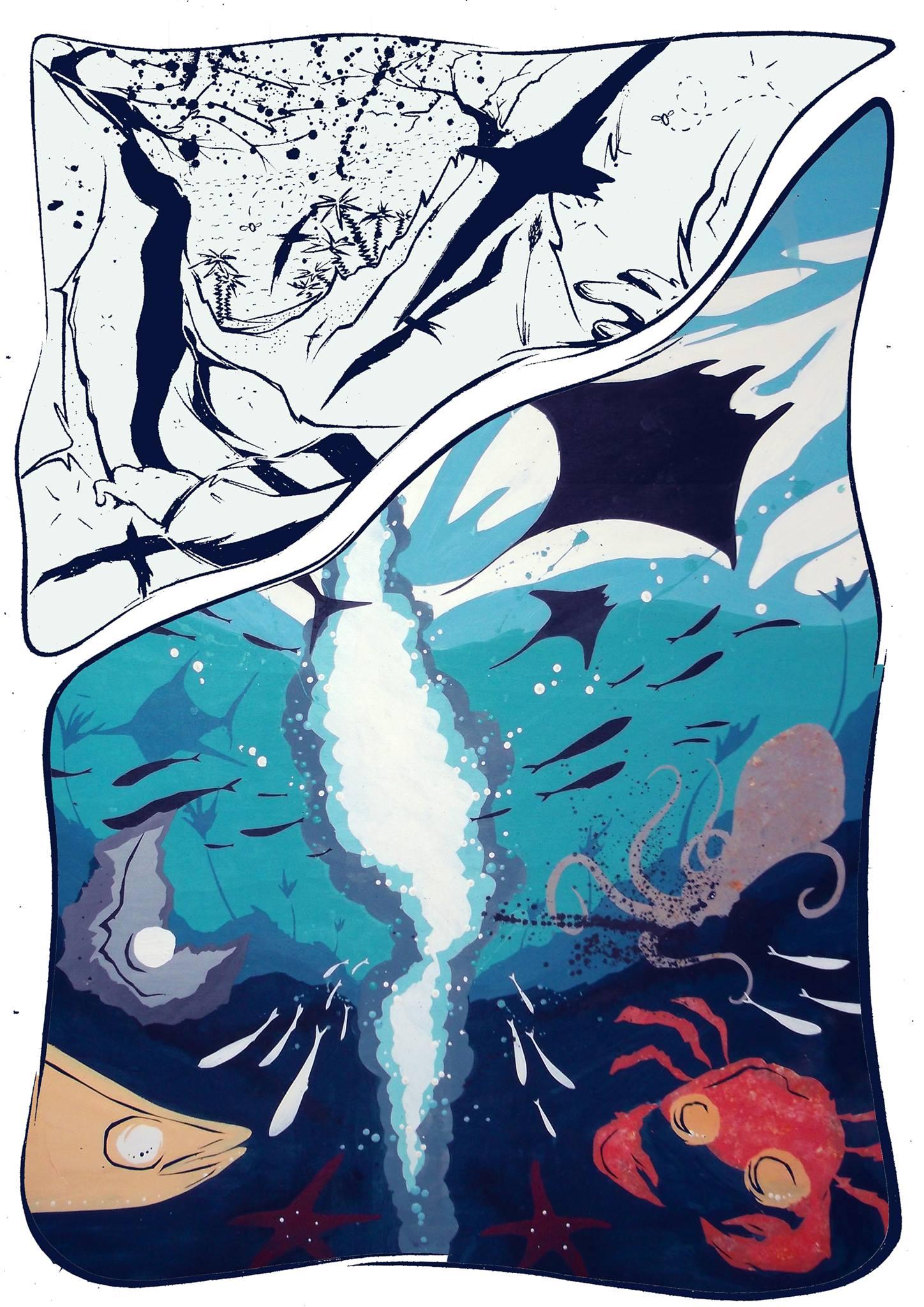 Eraclito un racconto di B.Bendinelli illustrazione Brucio