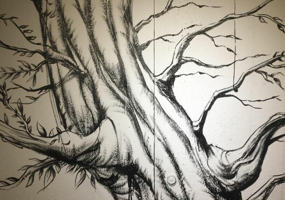 Storie di alberi in galleria: Tree-Roots and Crown || Intervista a Zeus OczB e M. Bidini || Arte e Letteratura || THREEvial Pursuit