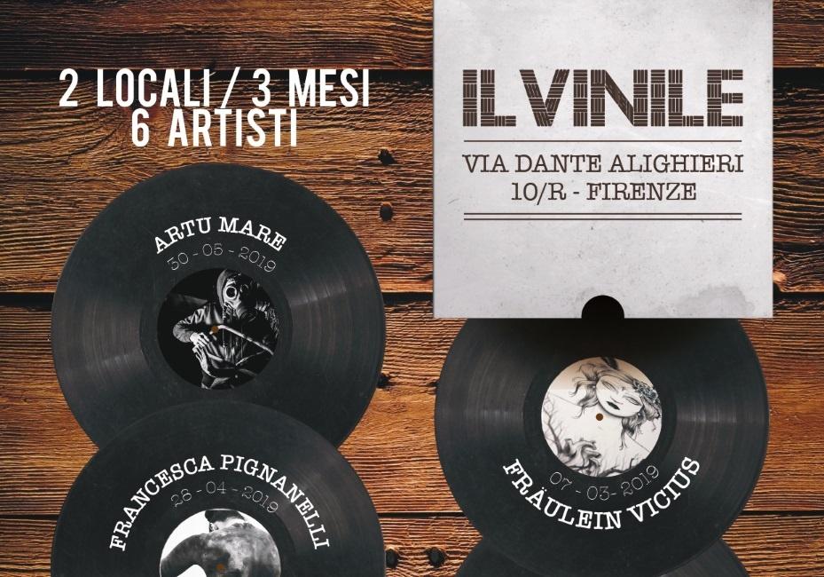 Vinile & Tabaccheria // 2 LOCALI // 3 MESI // 6 ARTISTI