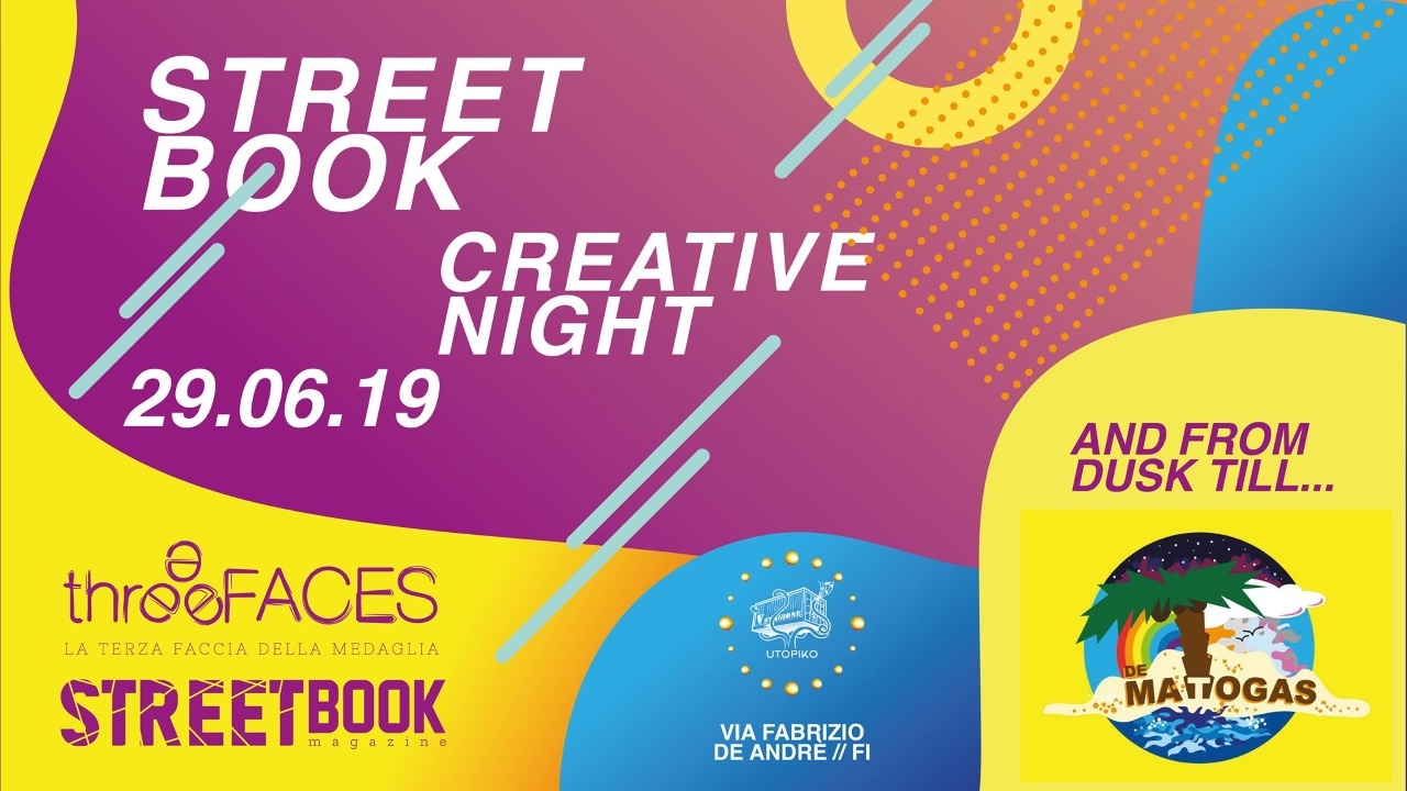 StreetBook Creative Night w/ De Matogas @ UtopiKo (FI)