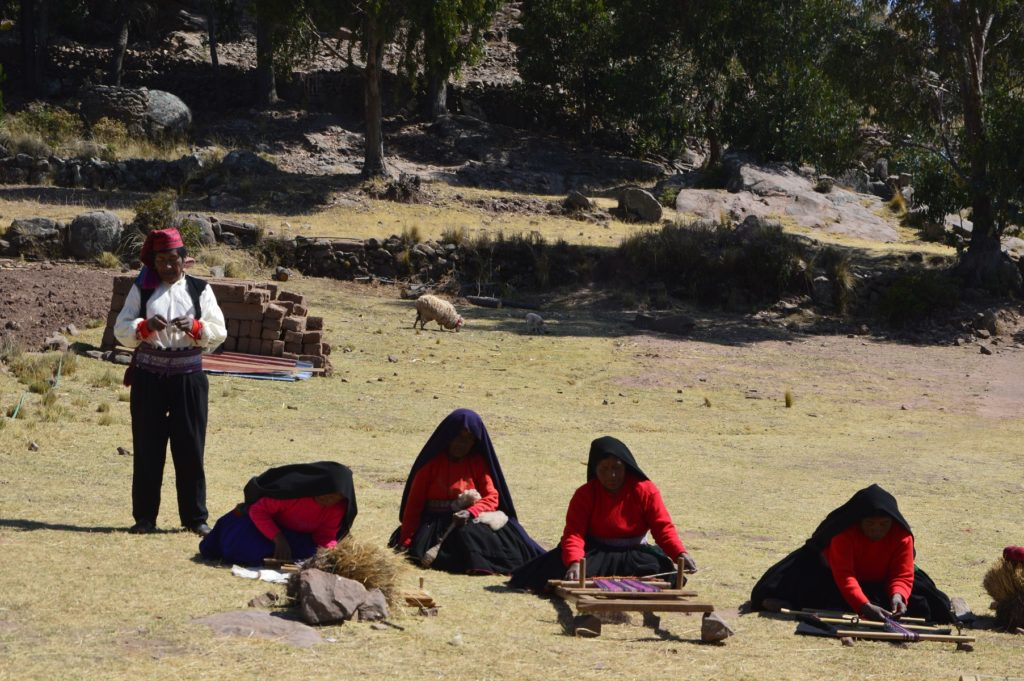 Quechua Taquile Perù