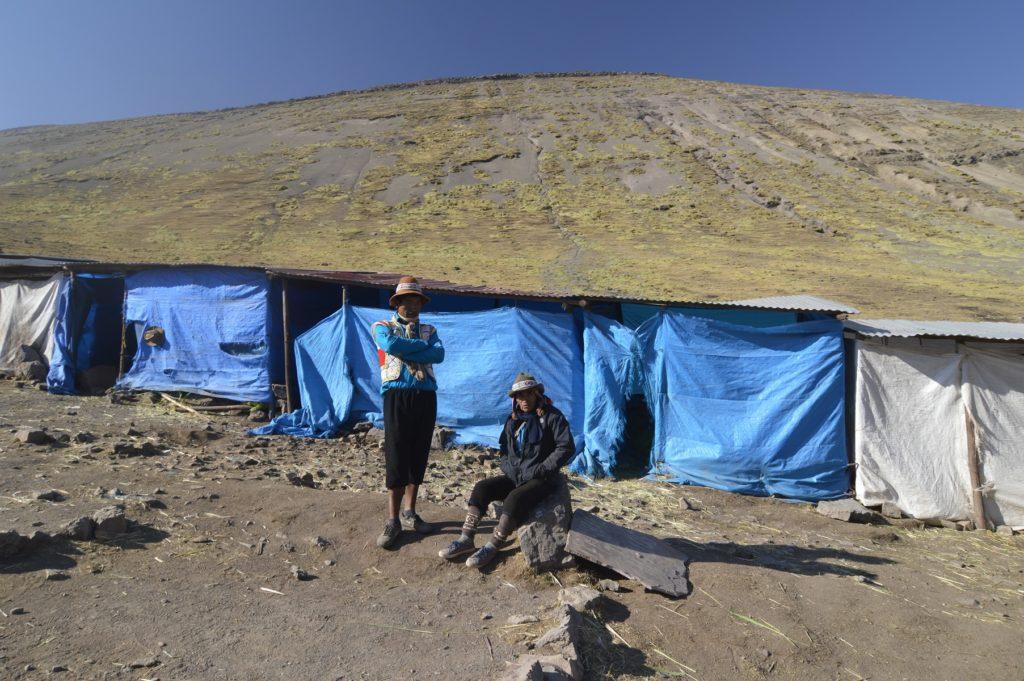 Quechua campo base Vinicunca