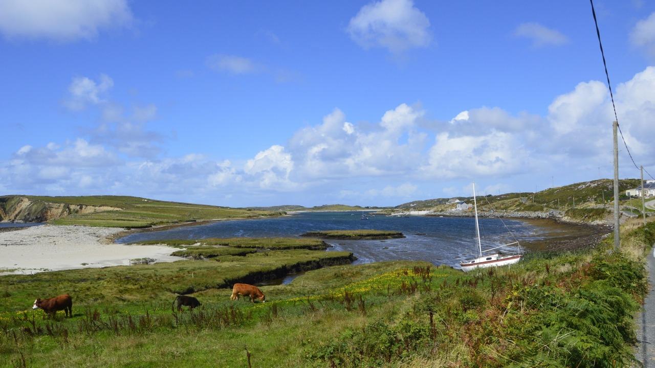 Il cielo d'Irlanda, un articolo di G. Levantini || Threevial Pursuit