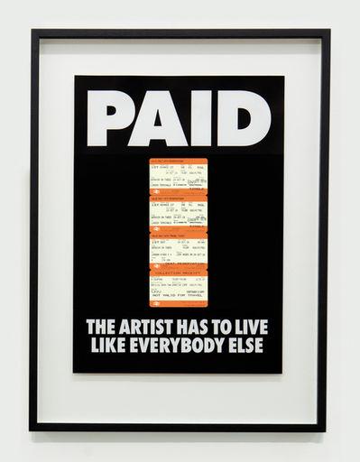 arte e capitalismo billy apple