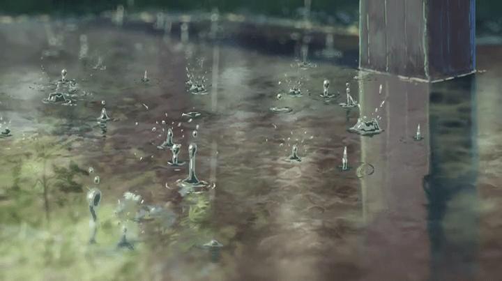 rain giardino parole