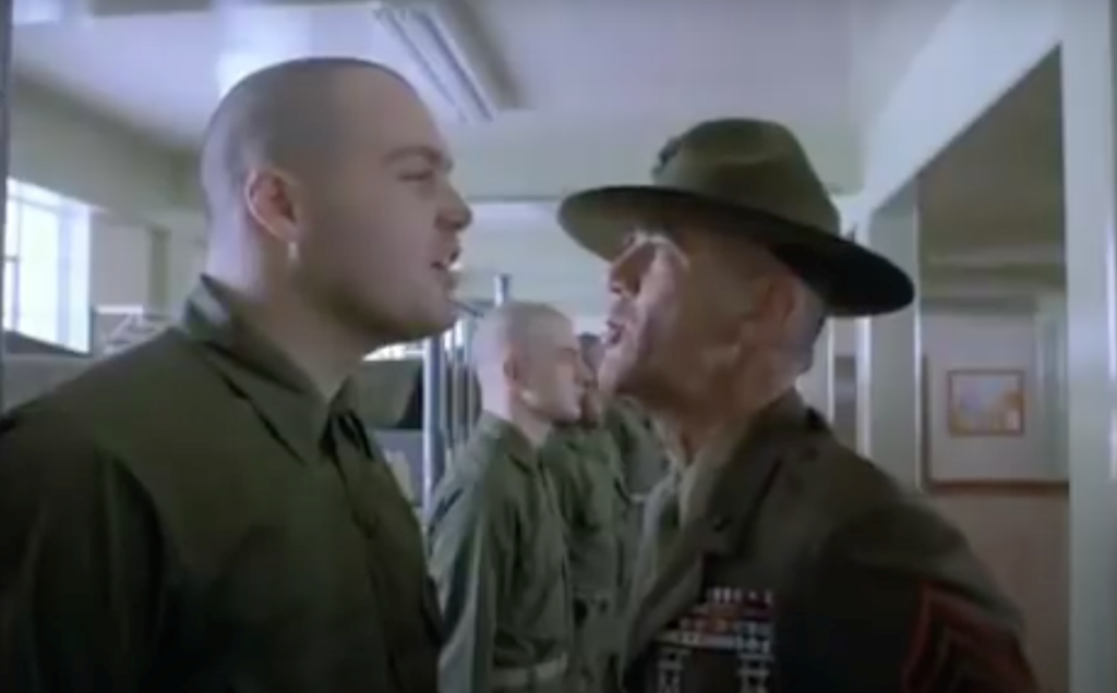 full metal jacket droplets