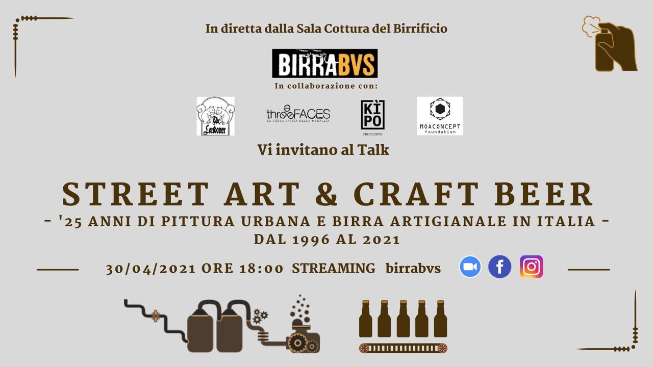 Street Art & Craft Beer || Talk su pittura urbana e birra artigianale