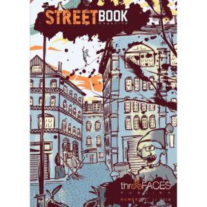 Copertina a opera di Brucio di SteetBook Magazine #2_fronte