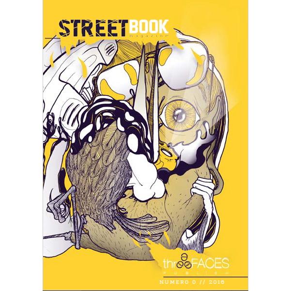 Streetbook magazine 0 - rivista letteraria artistica indipendente edita da three faces