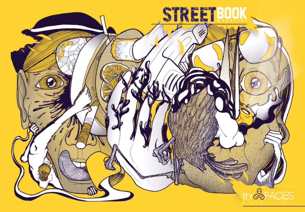 Streetbook magazine 0 - rivista letteraria artistica indipendente edita da three faces_interno