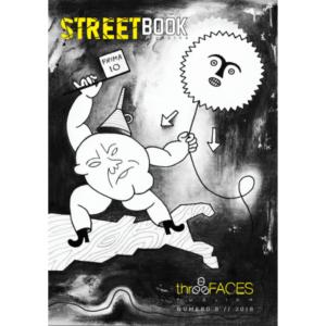 Copertina a opera di Guerrilla SPAM di SteetBook Magazine #8_fronte