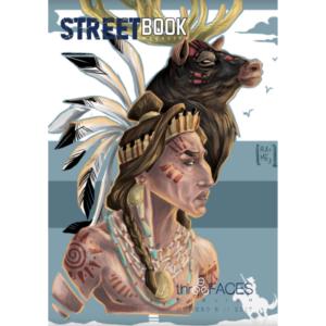 StreetBook Magazine #6, copertina artista Rame13, Three Faces