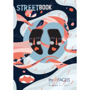 StreetBook Magazine #4, copertina artista Luchadora, Three Faces